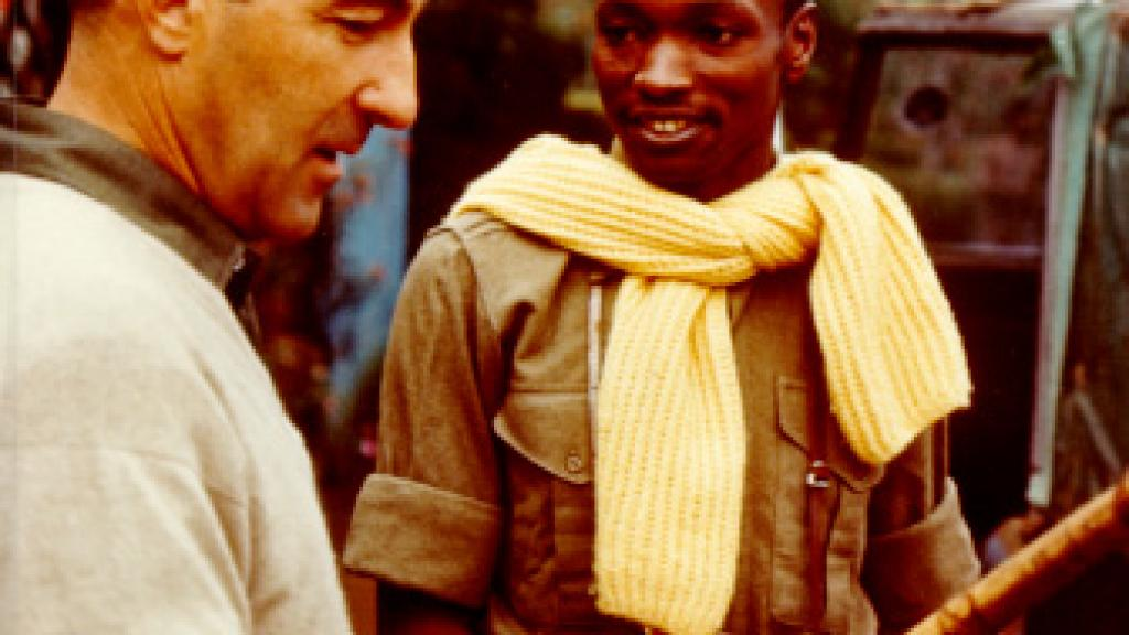 Stewart L. Udall during a trip to Africa