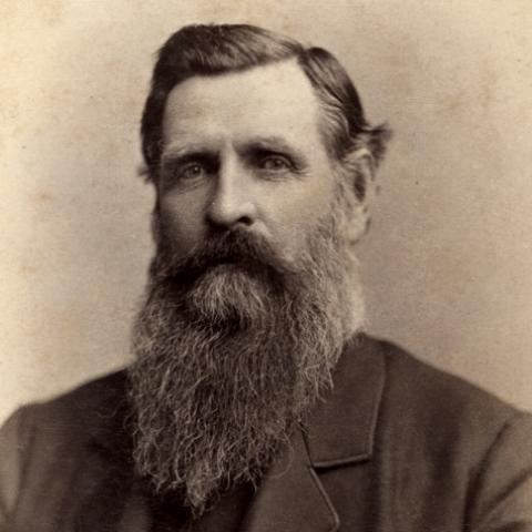 Photograph of Granville H. Oury, circa 1880