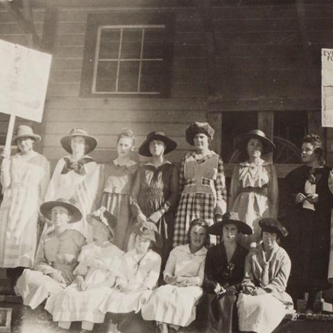 World War I Victory Girls, 1920