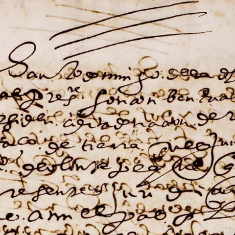 Manuscript of Convento de Santo Domingo de Mexico documents