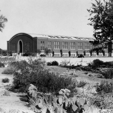 Photo titled Bear Down Gymnasium, University of Arizona