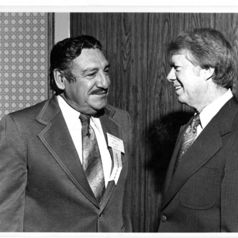 Governor Castro with Jimmy Carter