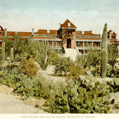 Old main building, early 20th century