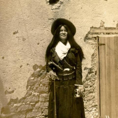 Photo of Yaqui Indian girl