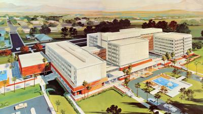 Postcard, College of Medicine 1967