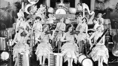 The Ingenues Starring in the Motion Picture the Band Beautiful, 1928
