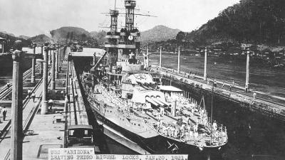 Photo of USS Arizona