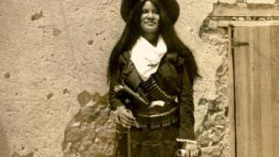 Photo of Yaqui Indian girl